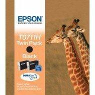 Tusz Epson  T0711H  do D120,SX-205/405/515 | 2 x 11,1ml |   black