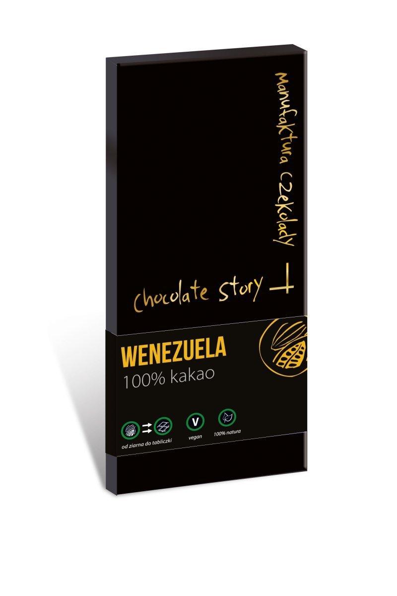Czekolada gorzka 100% kakao z Wenezueli 50g