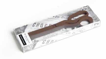Nożyczki z czekolady