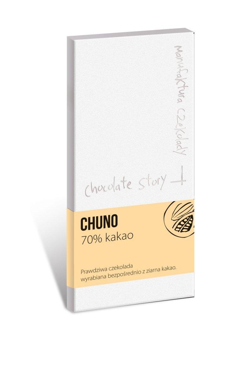 Czekolada z 70% kakao CHUNO 50g