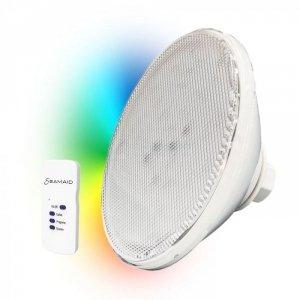 Żarówka PAR 56 LED RGB 16 W + PILOT Seamaid 502839