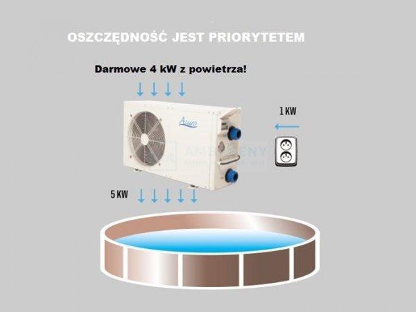 Basenowa pompa ciepła AZURO 12 kW