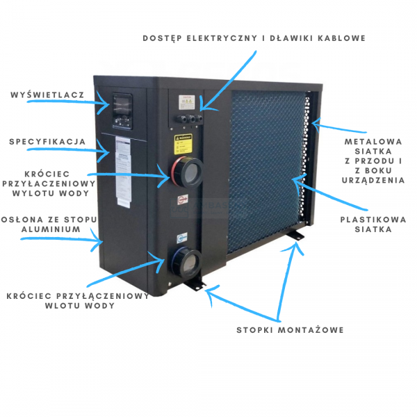 Pompa ciepła Fairland Rapid Inverter-Plus 20,5 kW