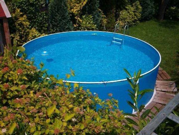 Folia niebieska 4,6 x 1,2 m - 0,25 mm