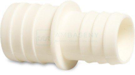 Łącznik węża, Redukcja PCV 32/38mm + opaski + taśma