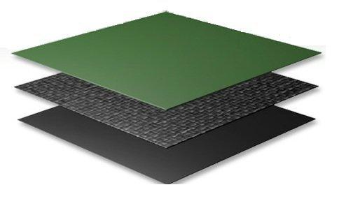 Płachta kryjąca owalna 5,5 x 3,7 m SUPREMA