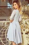 Sukienka szara z dłuższym tyłem Numoco 210-9_1