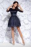 Bicotone 2128-01 sukienka granatowa