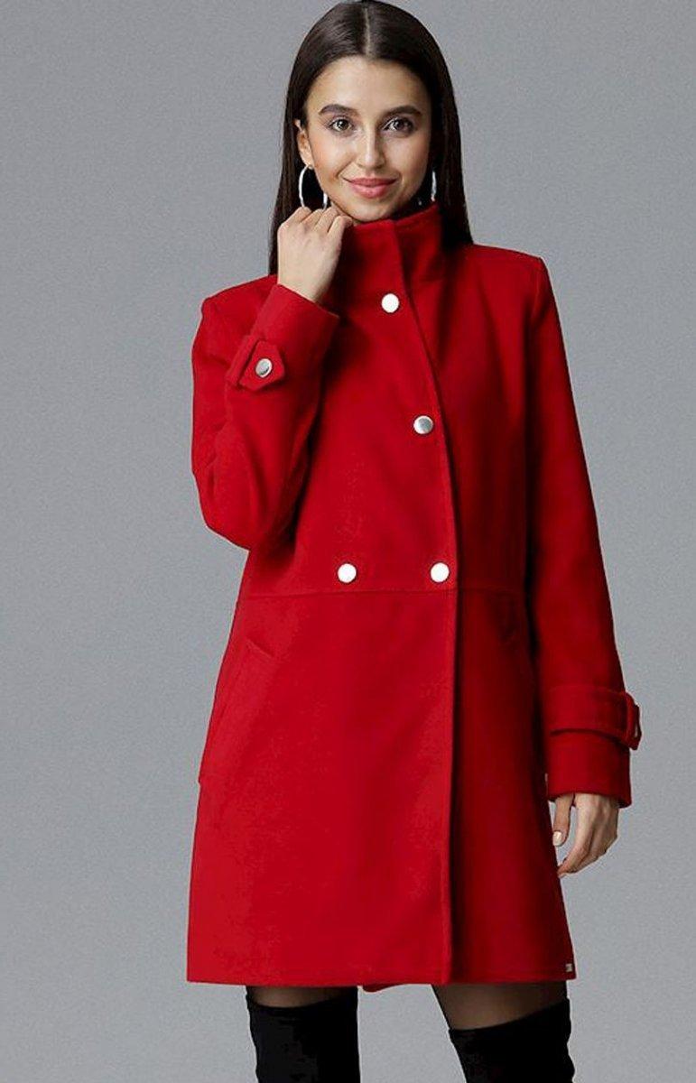Czerwone płaszcze damskie sklep internetowy Modne Kolory