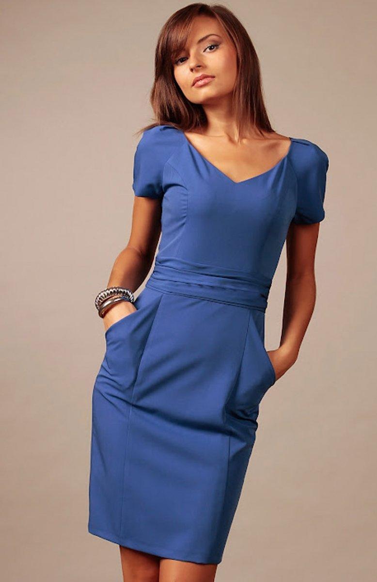 79199dcbd8f *Vera Fashion Michelle sukienka chabrowa