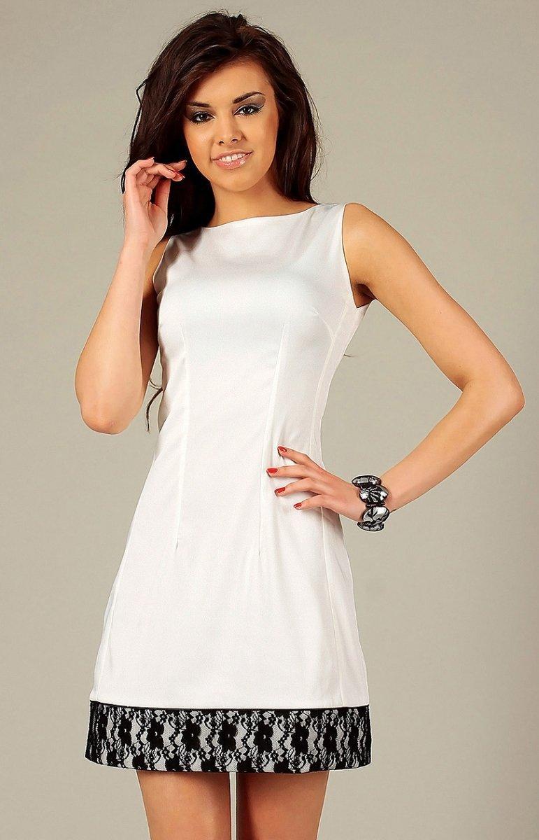 9b7cabc03f Vera Fashion Simone sukienka kremowa - Sukienki damskie Vera Fashion ...