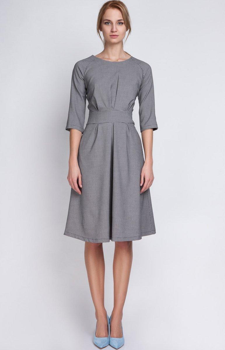 59160767de Lanti SUK122 sukienka pepitka - Eleganckie sukienki damskie ...
