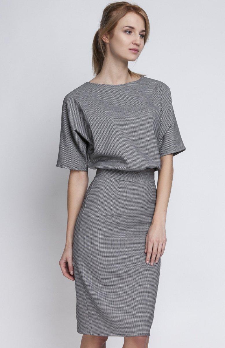 29282bd7d3 Lanti SUK123 sukienka pepitka - Sukienki i Bluzki damskie - Odzież ...