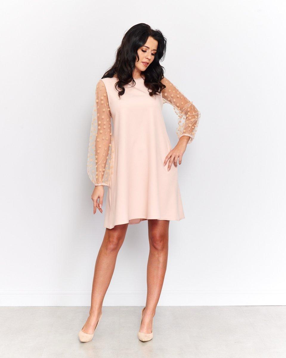 ceb9defe0b Roco 190 sukienka różowa - Sukienki na lato - Modne sukienki damskie ...