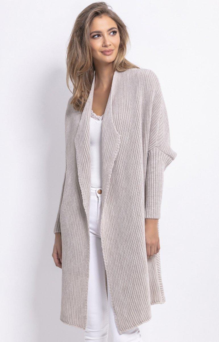 długie swetr i botki damskie