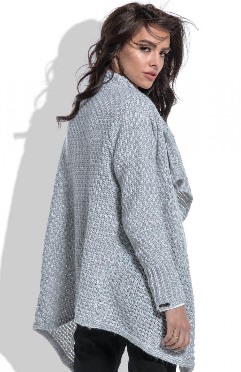 Fobya F464 sweter szary