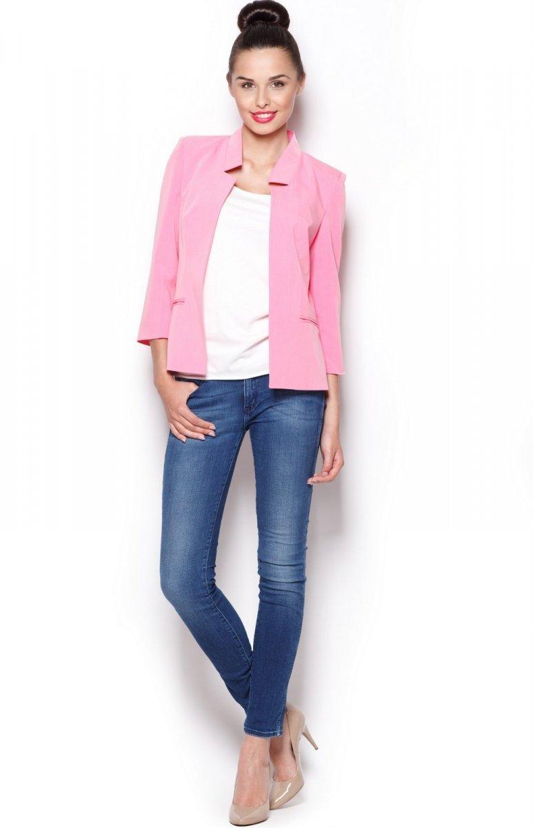 8997a196c4629 Figl M297 żakiet różowy - Odzież damska Figl - Spódnice i Sukienki ...