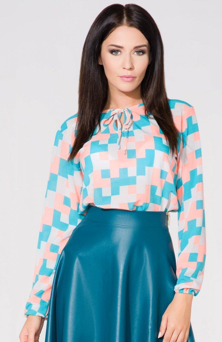 d2296a670d Tessita T157 3 bluzka kolorowa - Koszule i Bluzki damskie ...