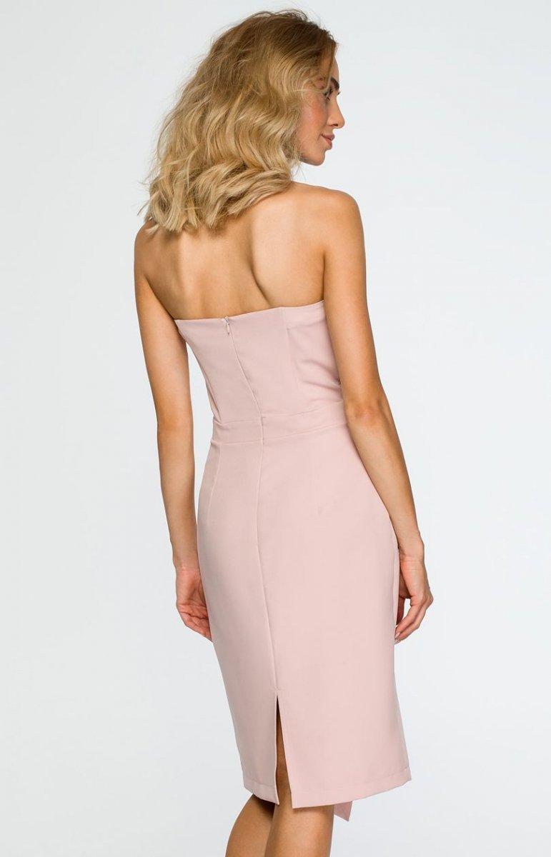 749fa55d4c Moe M409 sukienka wieczorowa pudrowy róż - Sukienki wieczorowe ...