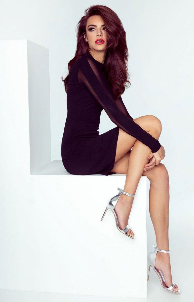 f96a3eacd7 Ivon 209 Jessica sukienka czarna - Sukienki na wesele - Sukienki ...
