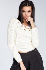 Fobya F241 sweter ecru