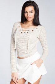Fobya F241 sweter beż