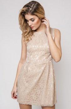 Vera Fashion Sonia sukienka beżowa
