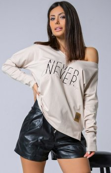 Oversizowa bluzka Never grow up 105-03