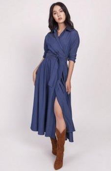 Sukienka długa jeans SUK173