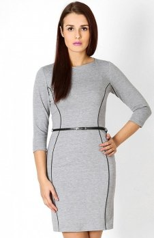 Vera Fashion Pola sukienka szary