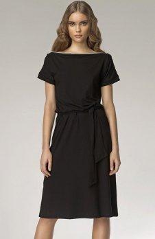 Nife S13 sukienka czarna
