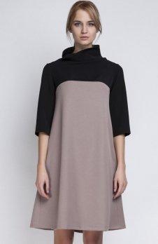 Lanti SUK121 sukienka beż