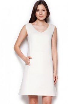 Figl M349 sukienka ecru