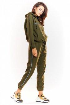Sportowe spodnie khaki M231
