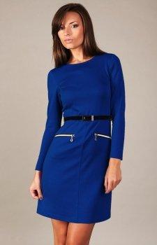 Vera Fashion Angela sukienka chabrowa