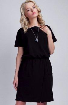 Lanti SUK117 sukienka czarna