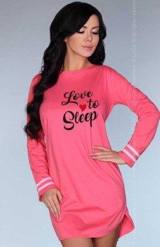 Livia Corsetti Cayani koszula nocna różowa