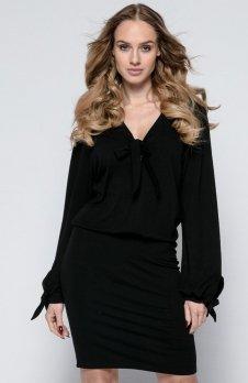 FIMFI I244 sukienka czarna
