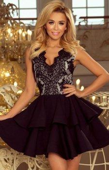 Numoco 200-3 Charlotte sukienka czarna