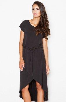Figl M394 sukienka czarna