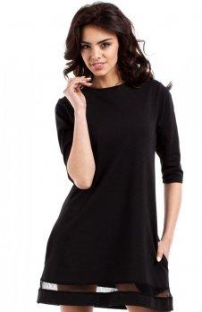 Moe MOE219 sukienka czarna