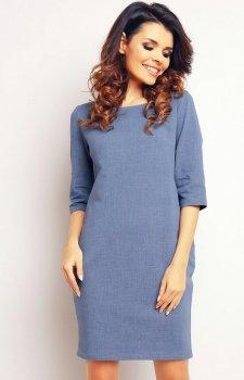 Infinite You M078 sukienka niebieska