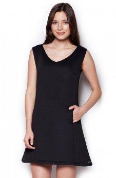 Figl M349 sukienka czarna