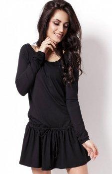 Ivon 201 sukienka czarna