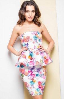 Katrus K283 sukienka kwiaty