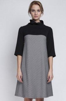 Lanti SUK121 sukienka pepitka