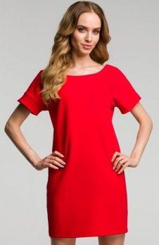 Moe M380 sukienka czerwona