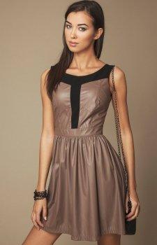 Ambigante 501 sukienka brązowa