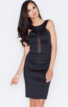 Figl M372 sukienka czarna