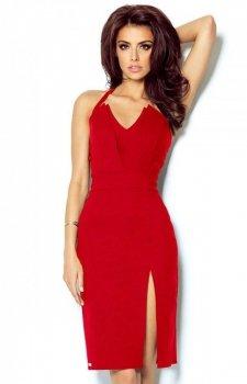 Ivon 301 Niki czerwona sukienka